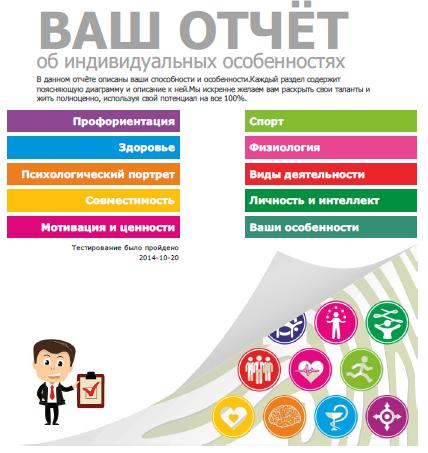 отчёт о способностях Качанов